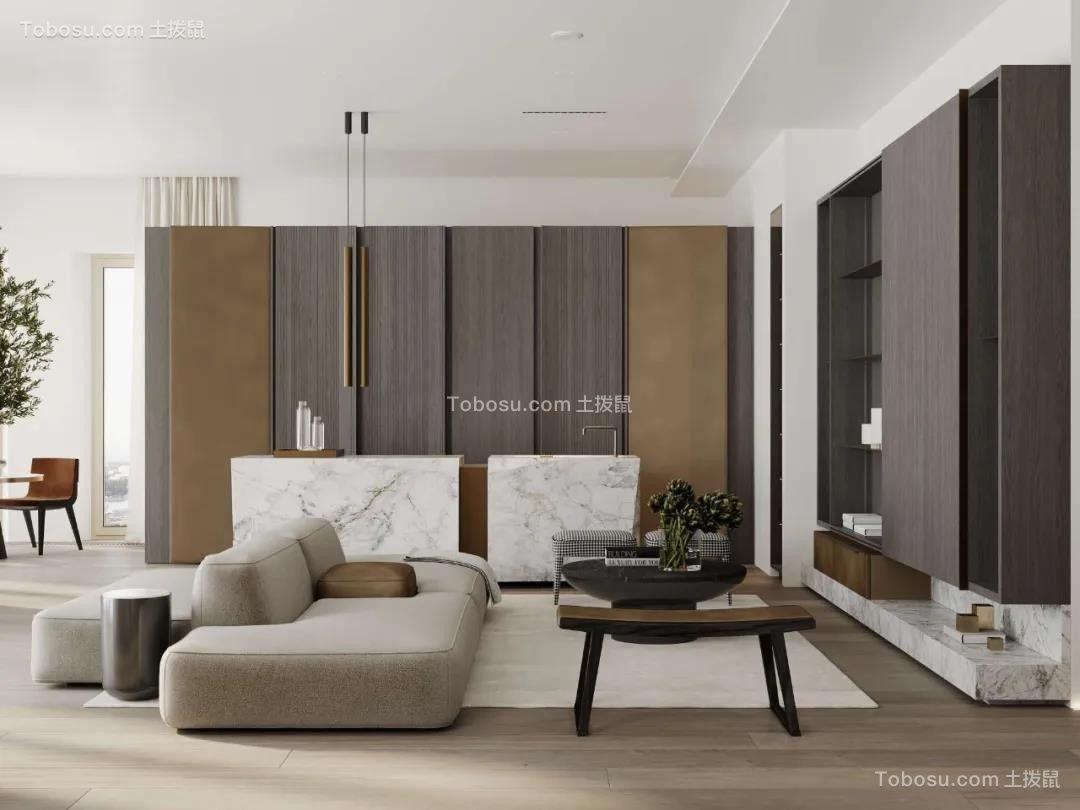 2020简约客厅装修设计 2020简约照片墙装修效果图大全
