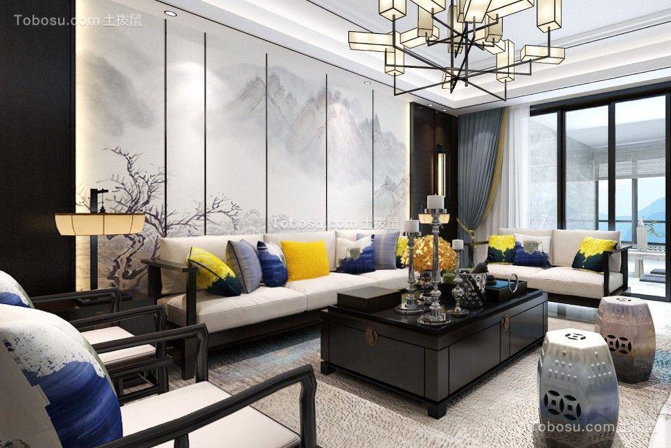 雲巢空间设计--220平方新中式大平层装修设计