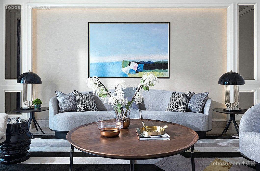 86平米两居室极简风装修案例