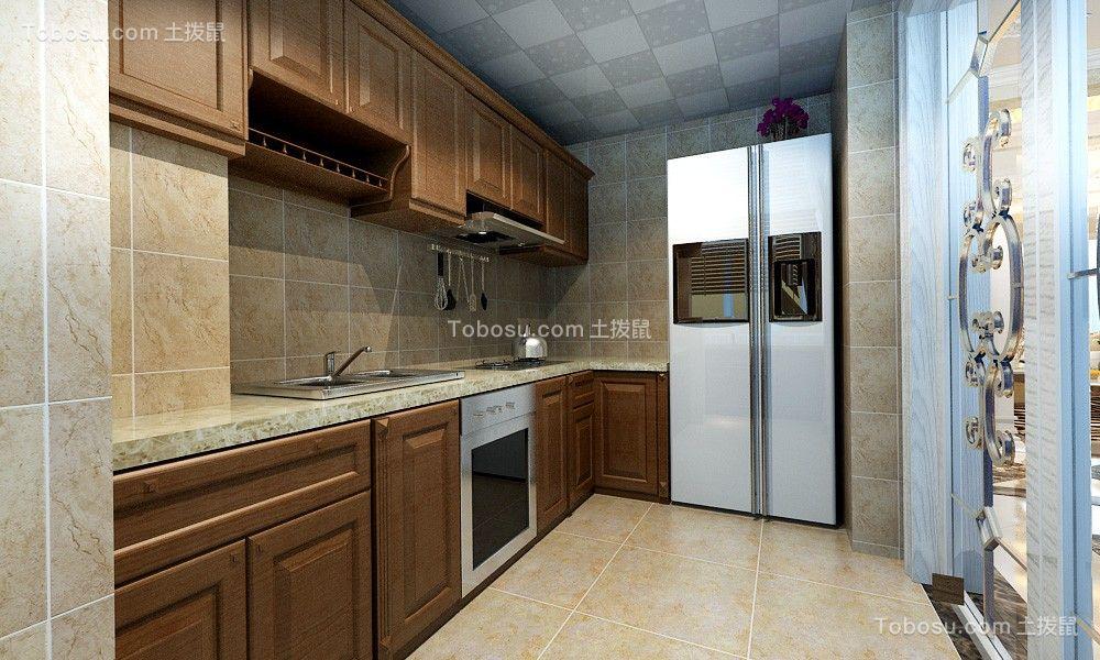 2020现代厨房装修图 2020现代橱柜装修效果图片