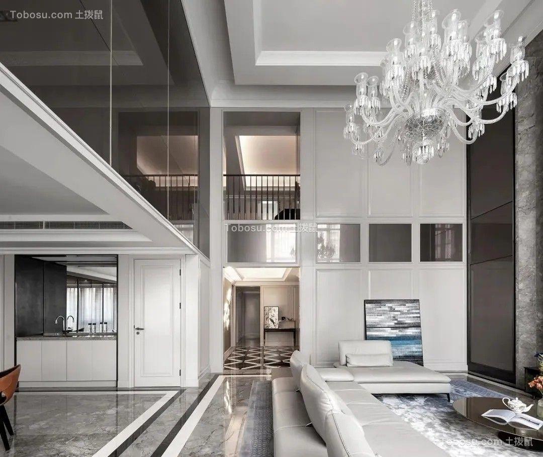 别墅装修现代轻奢风格设计