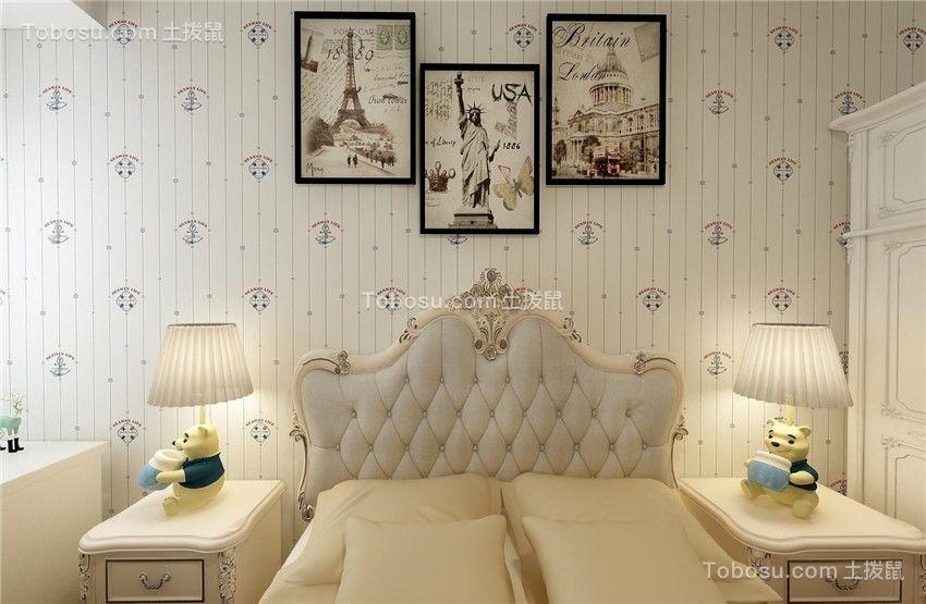 欧式120平米二居室装修效果图