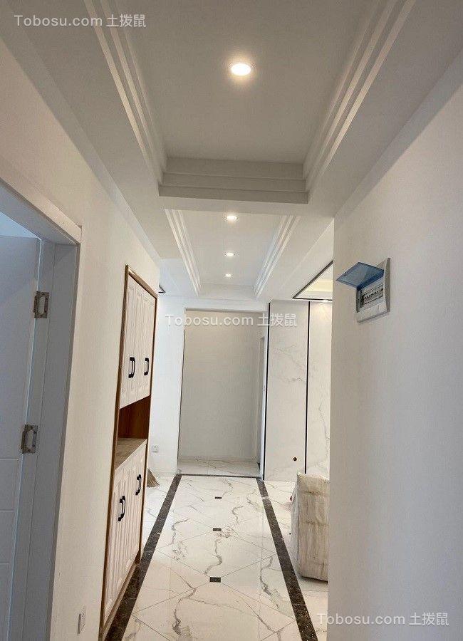 2021现代简约客厅装修设计 2021现代简约过道图片