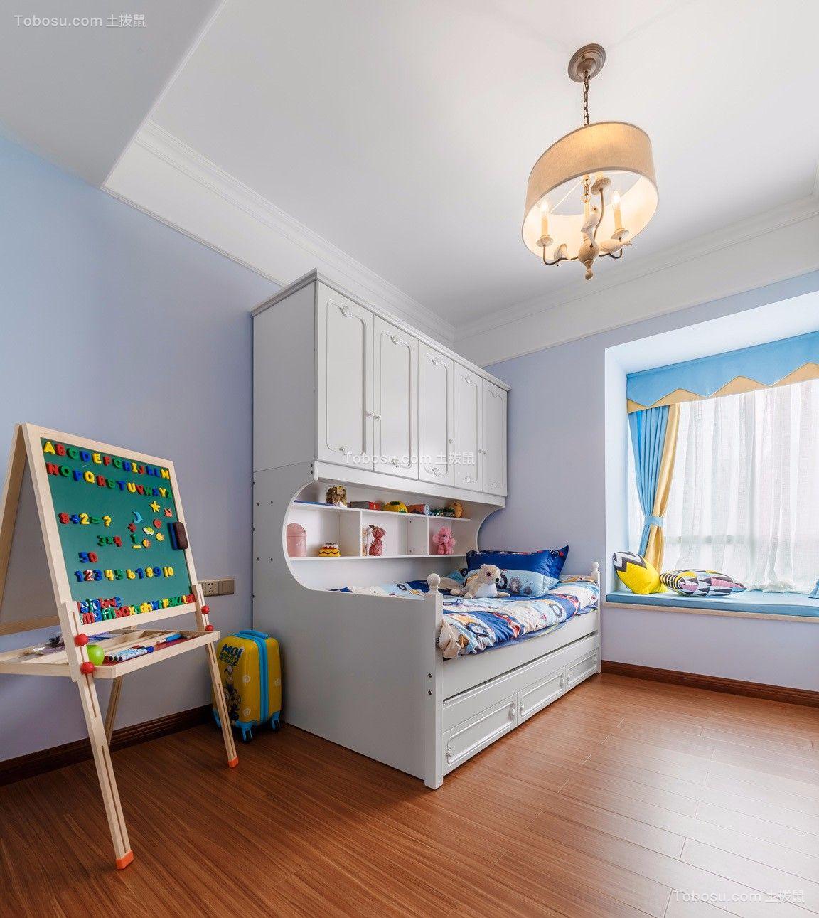 2021美式儿童房装饰设计 2021美式飘窗装修效果图大全