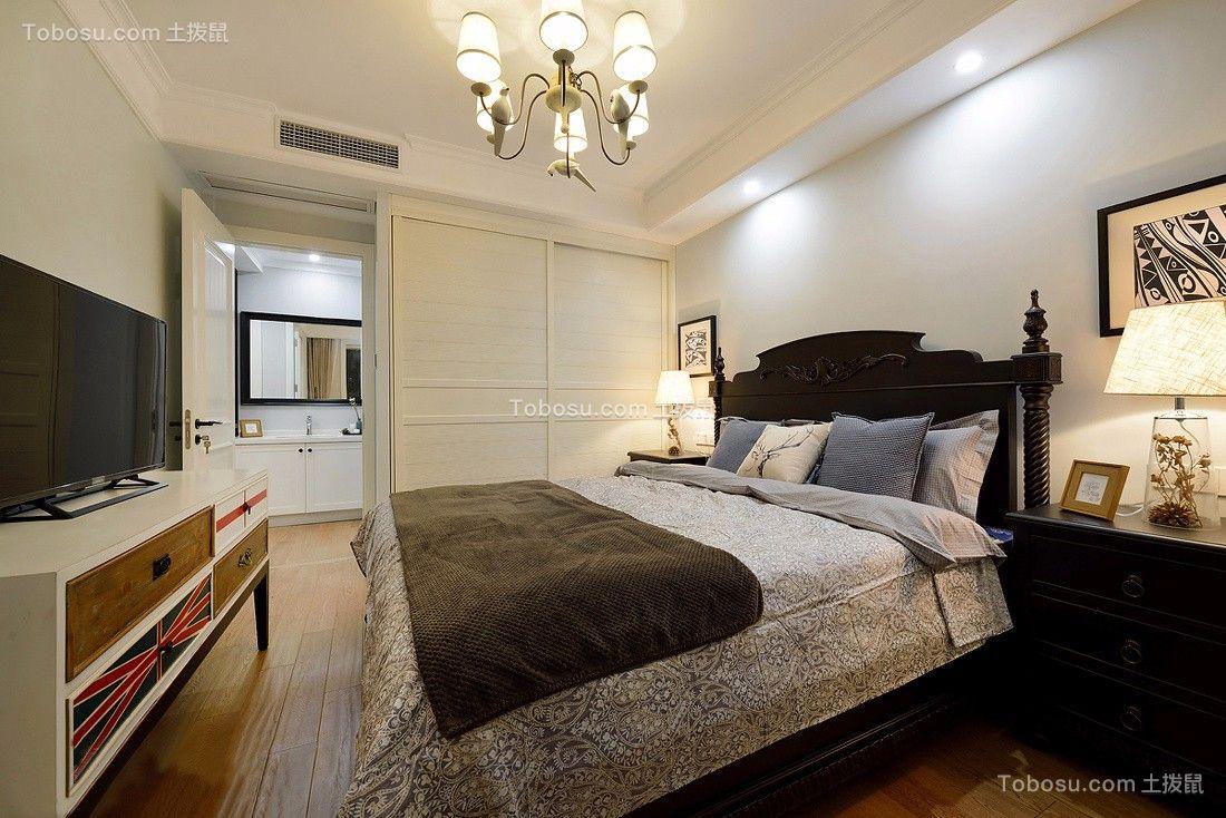 2021美式卧室装修设计图片 2021美式吊顶效果图