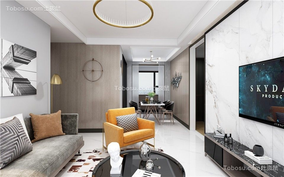 2021现代简约客厅装修设计 2021现代简约细节装饰设计