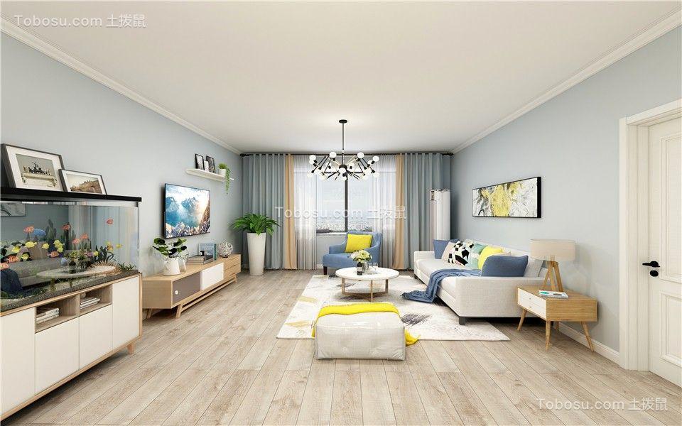 馨城家园 89平 现代风格 温馨舒适
