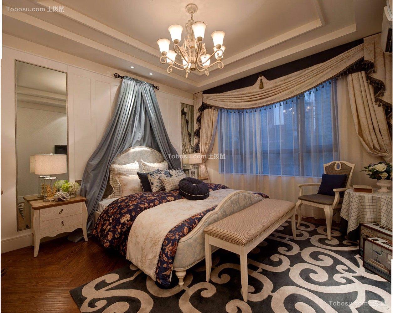 2021田园卧室装修设计图片 2021田园背景墙装饰设计