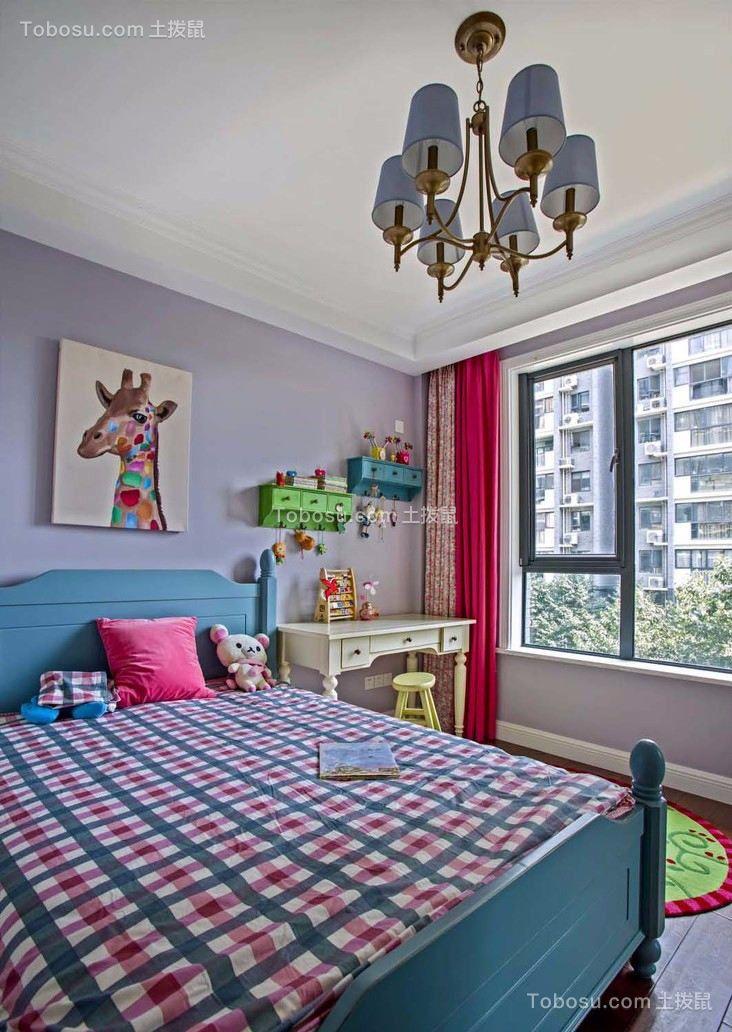 2021美式卧室装修设计图片 2021美式窗帘装修设计图片