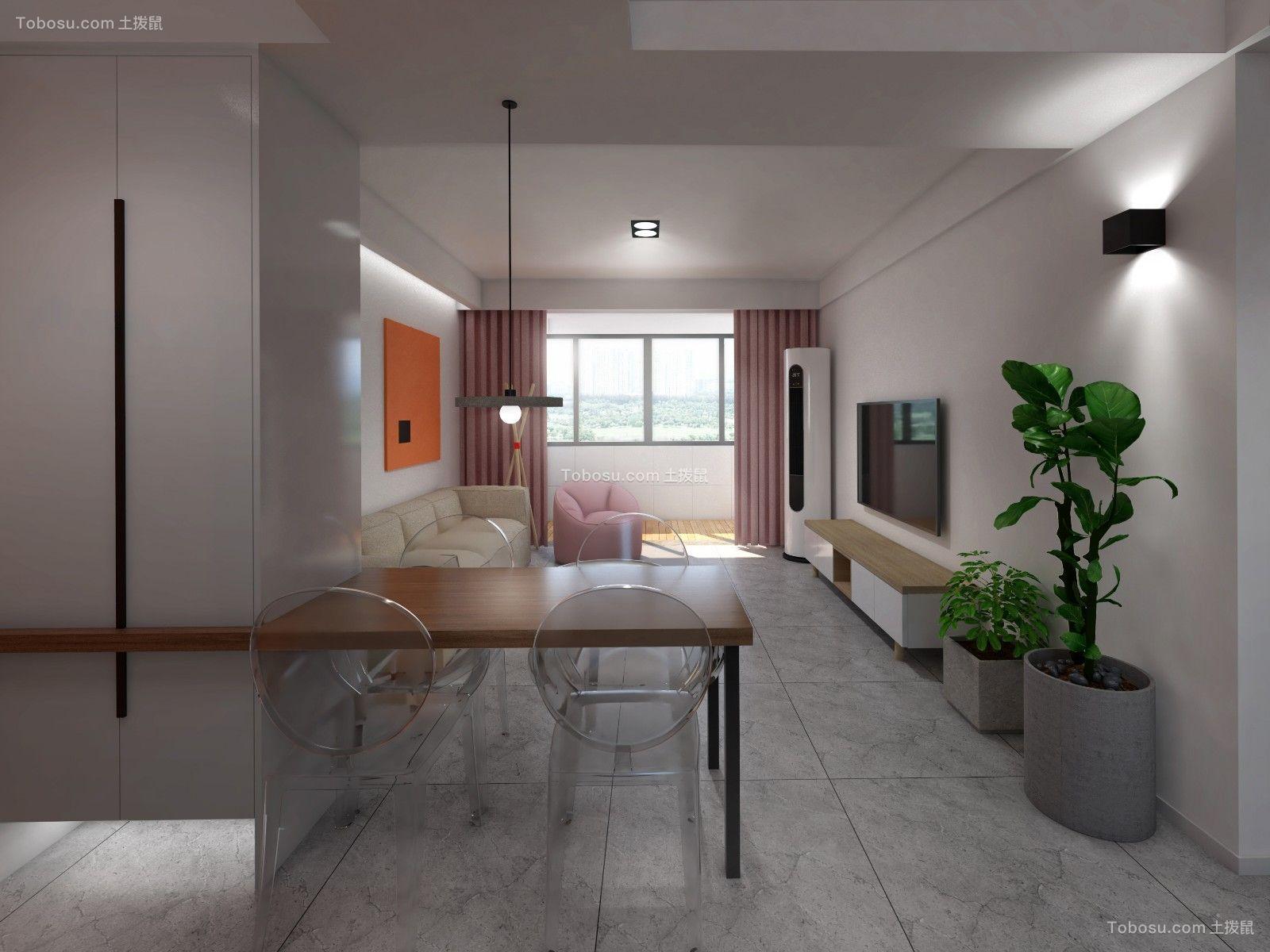 2021简约客厅装修设计 2021简约隔断装修设计