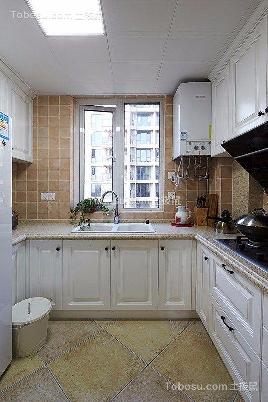 2021美式厨房装修图 2021美式橱柜装修效果图片