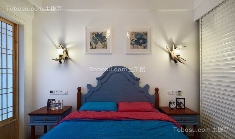 2021地中海卧室装修设计图片 2021地中海照片墙装修图