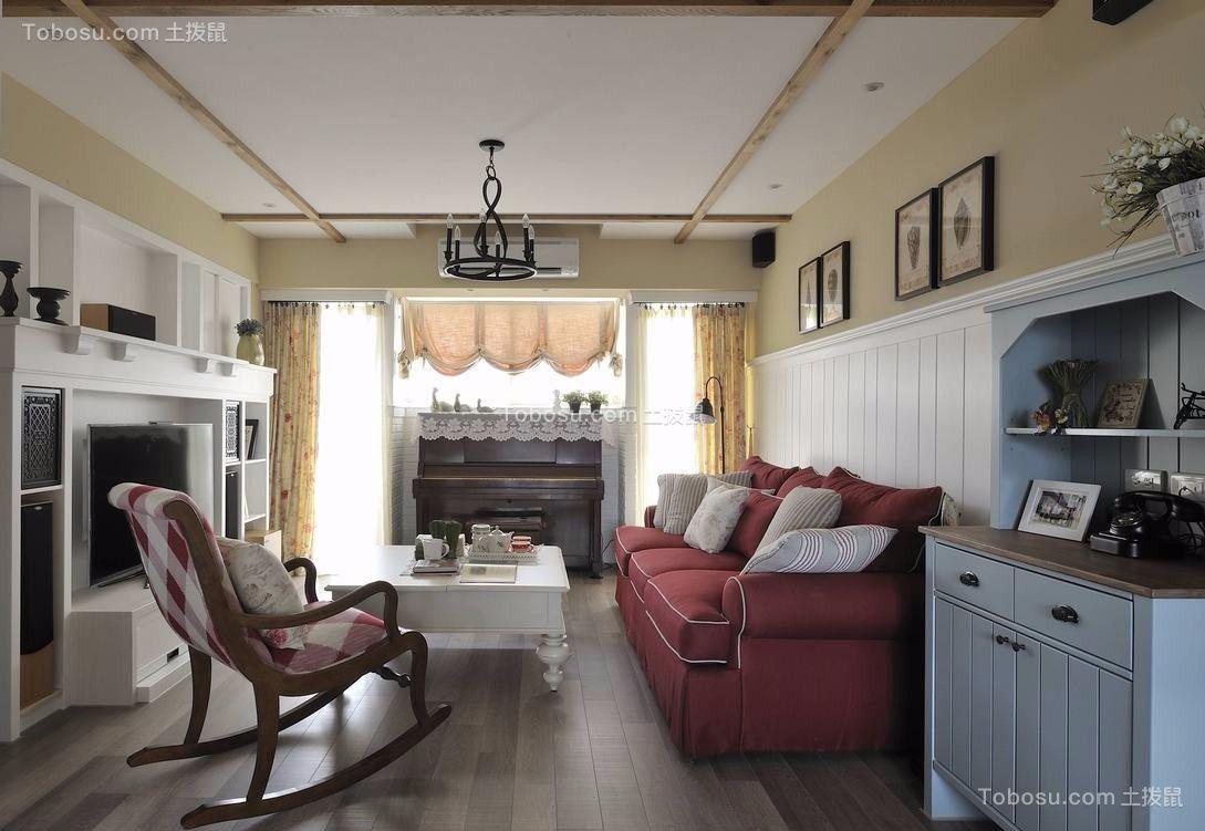 2021田园客厅装修设计 2021田园沙发装修设计