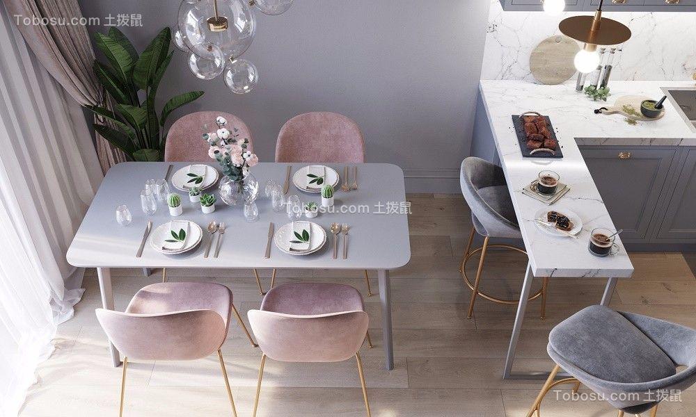 2021北欧餐厅效果图 2021北欧餐桌装修图片