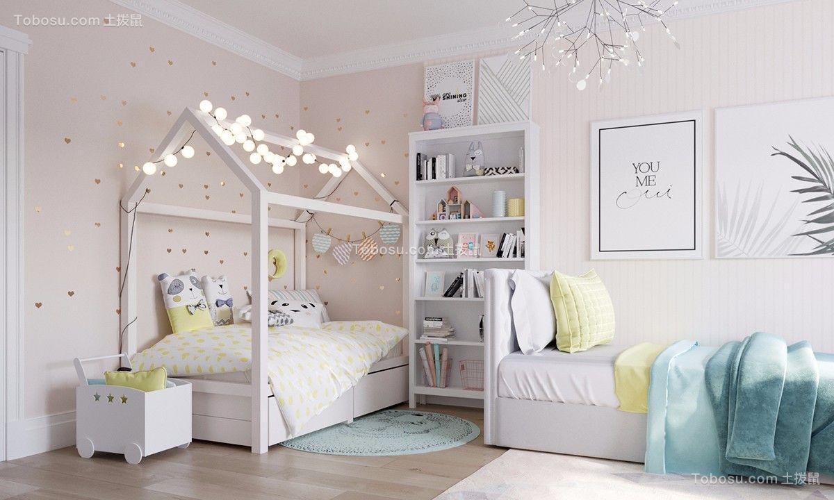 2021北欧卧室装修设计图片 2021北欧窗帘装修设计图片
