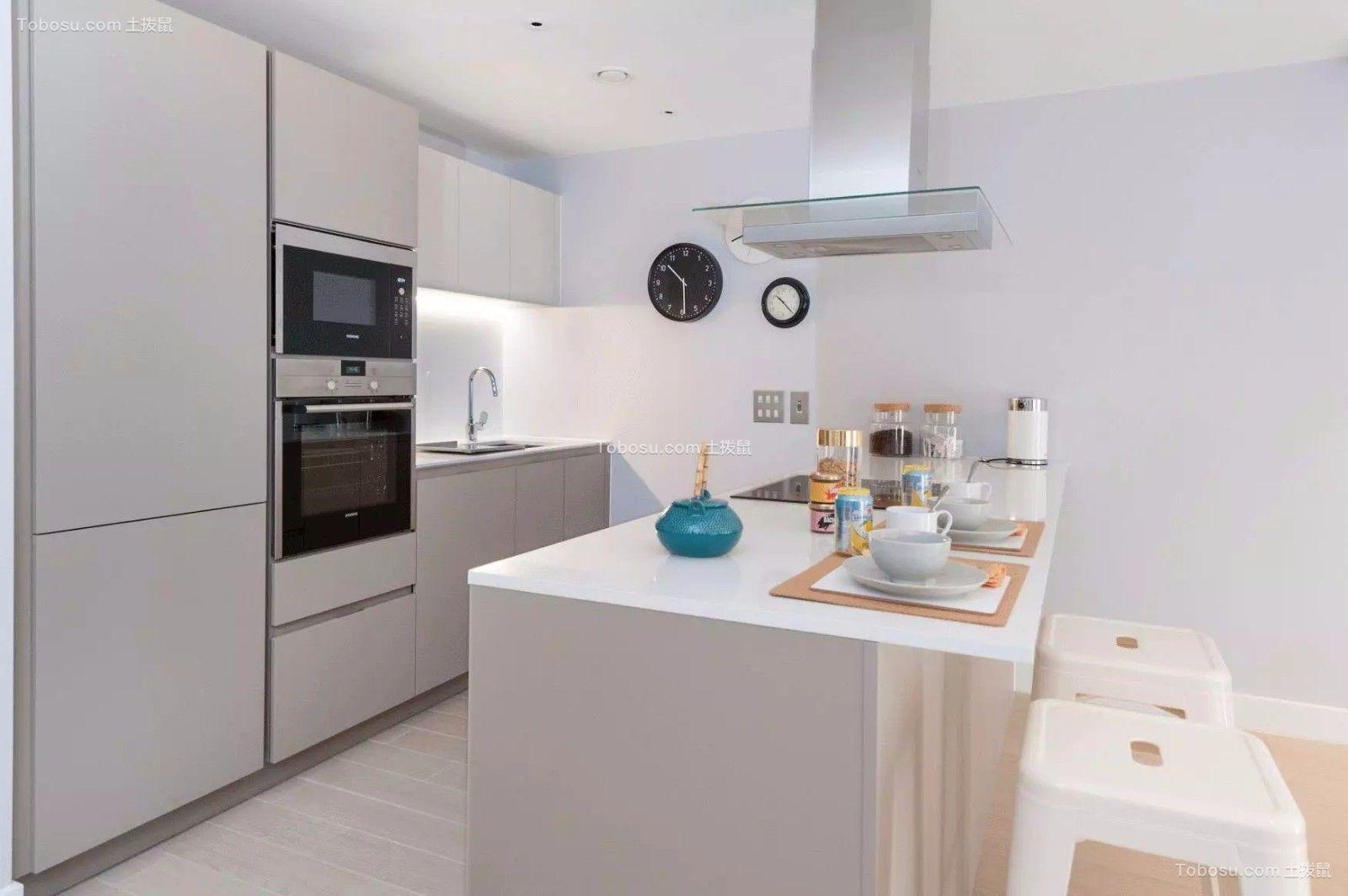 2021北欧厨房装修图 2021北欧吧台装修设计图片