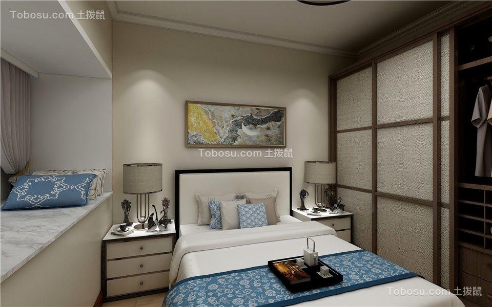 2021新中式卧室装修设计图片 2021新中式细节装修图