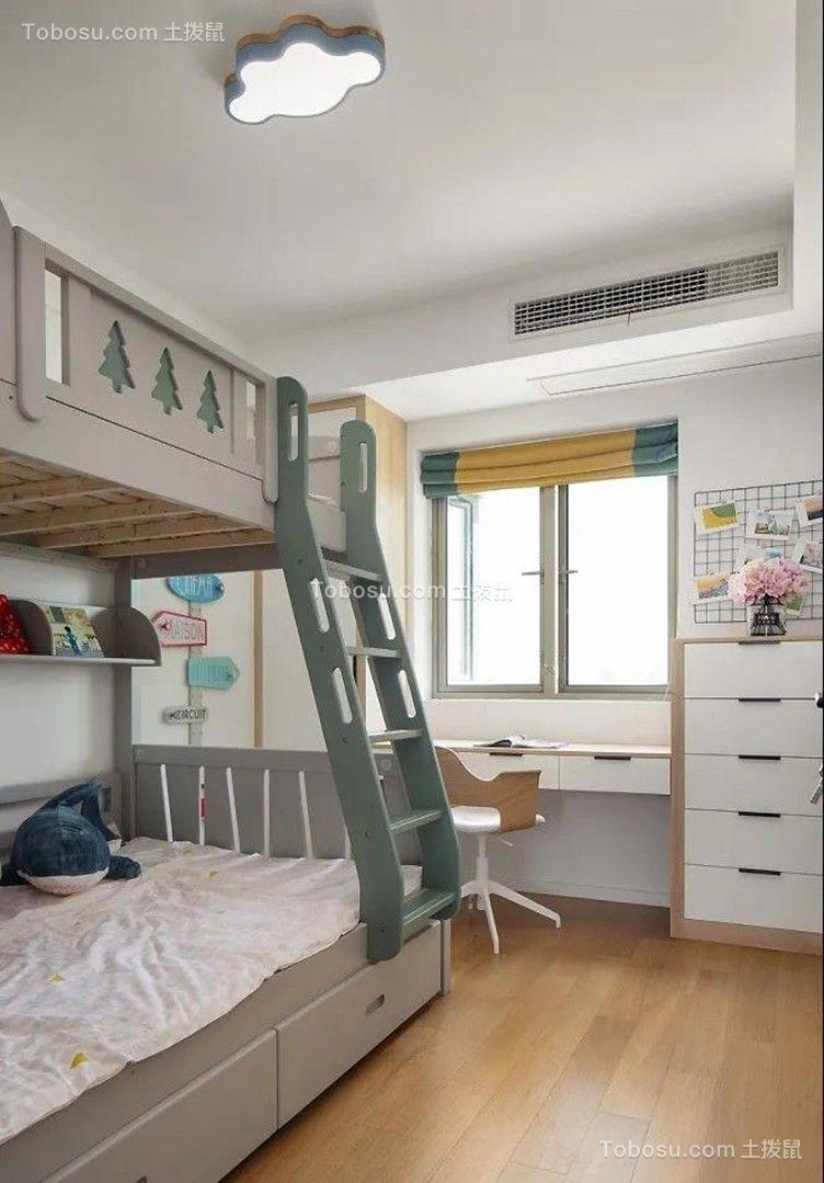 2021美式儿童房装饰设计 2021美式背景墙装修图