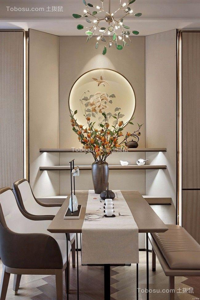 2021中式餐厅效果图 2021中式吊顶装修图片