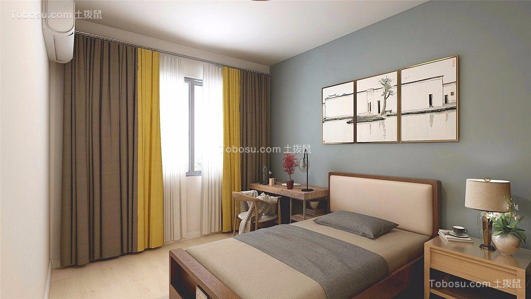 2021中式卧室装修设计图片 2021中式吊顶效果图
