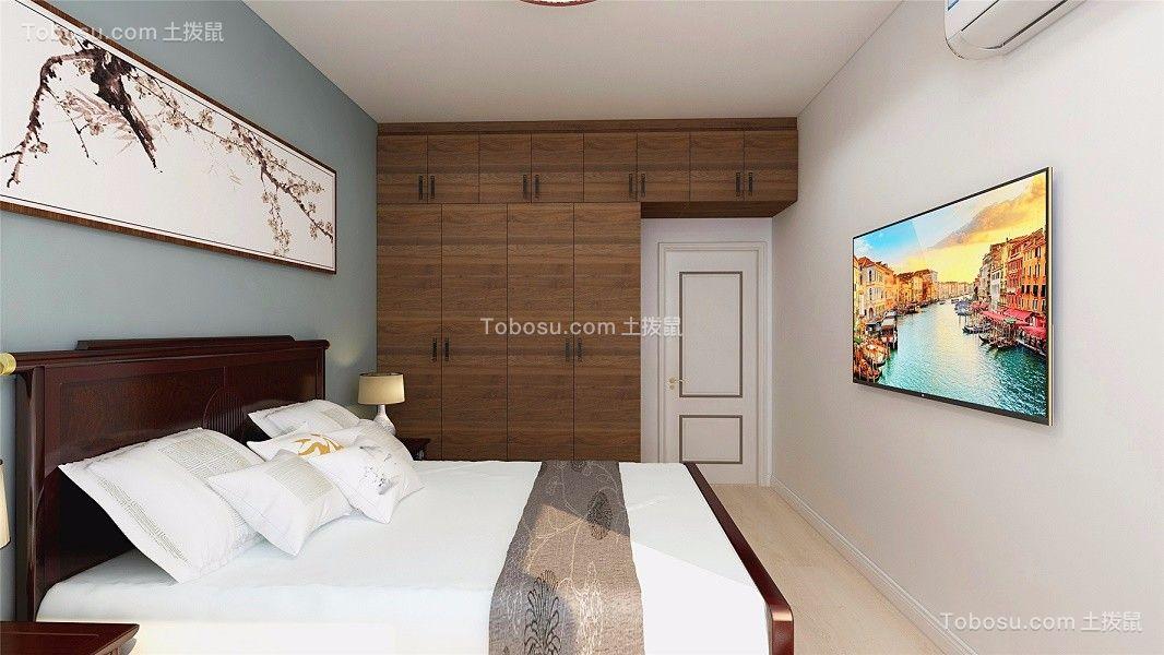 2021中式卧室装修设计图片 2021中式照片墙装修图