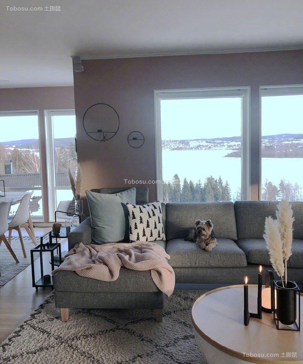 2021现代客厅装修设计 2021现代窗台设计图片