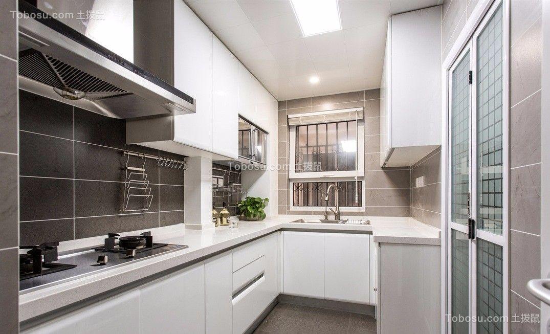 2021中式厨房装修图 2021中式橱柜装修效果图片