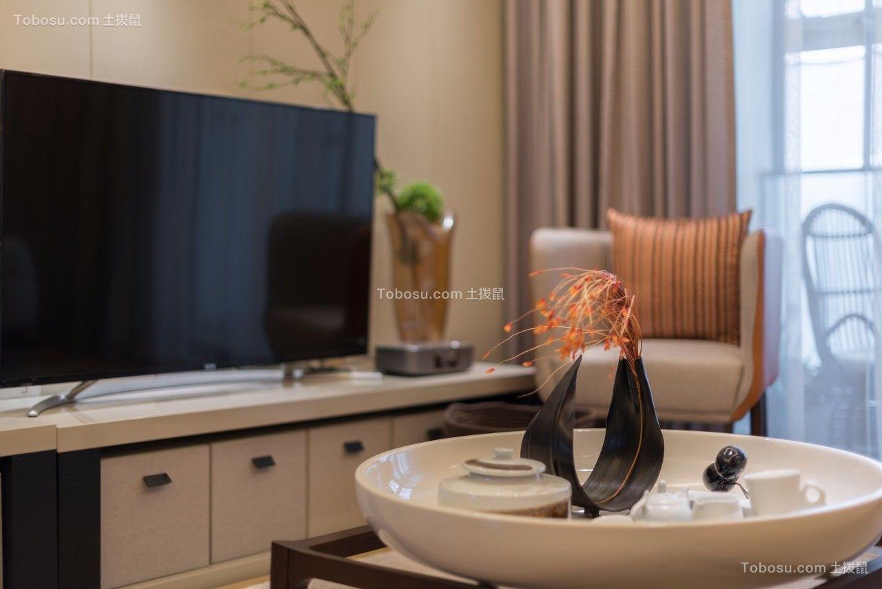 2021现代简约客厅装修设计 2021现代简约茶几效果图