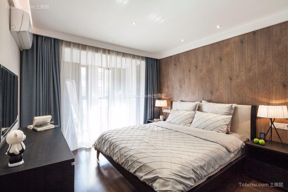 现代二居室110平装修效果图
