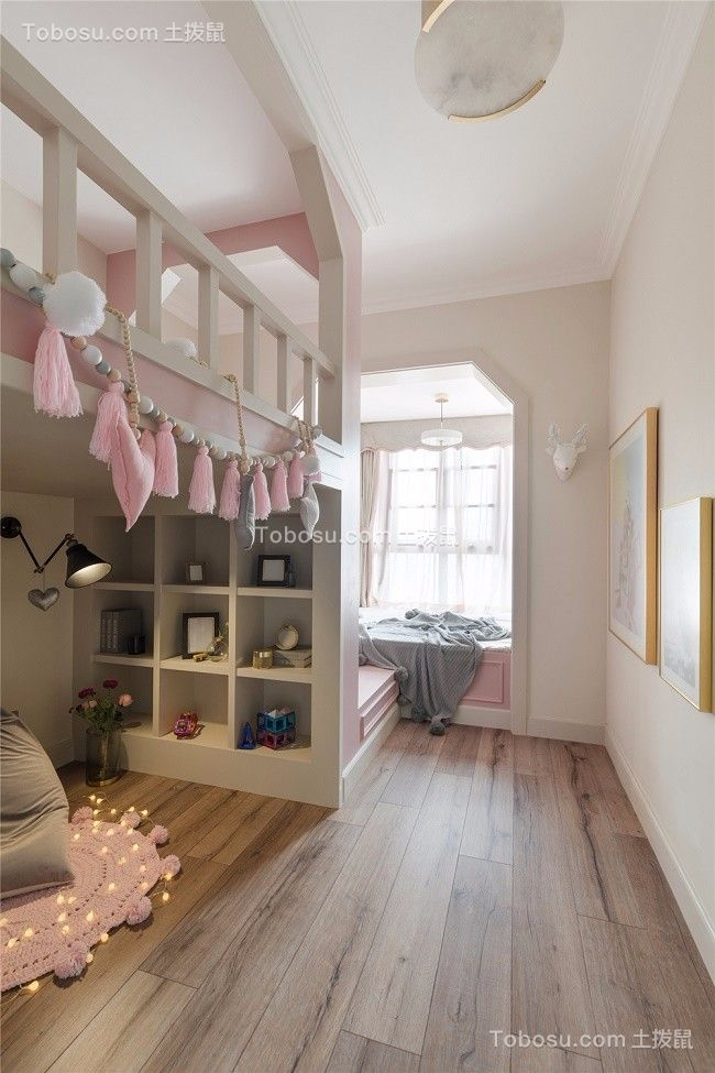 2021美式儿童房装饰设计 2021美式地板装修设计