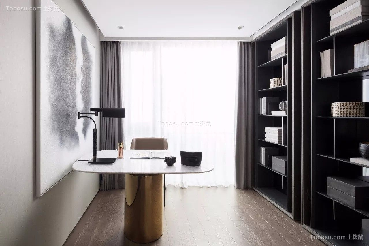 2021现代简约书房装修设计 2021现代简约细节装饰设计