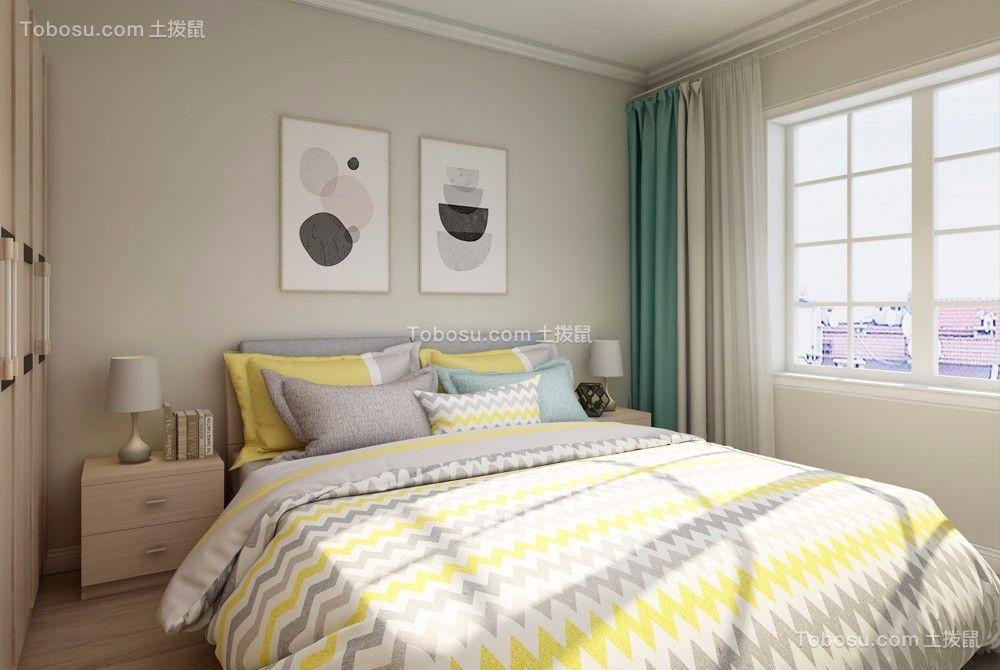 2021简欧卧室装修设计图片 2021简欧床头柜装修设计图片