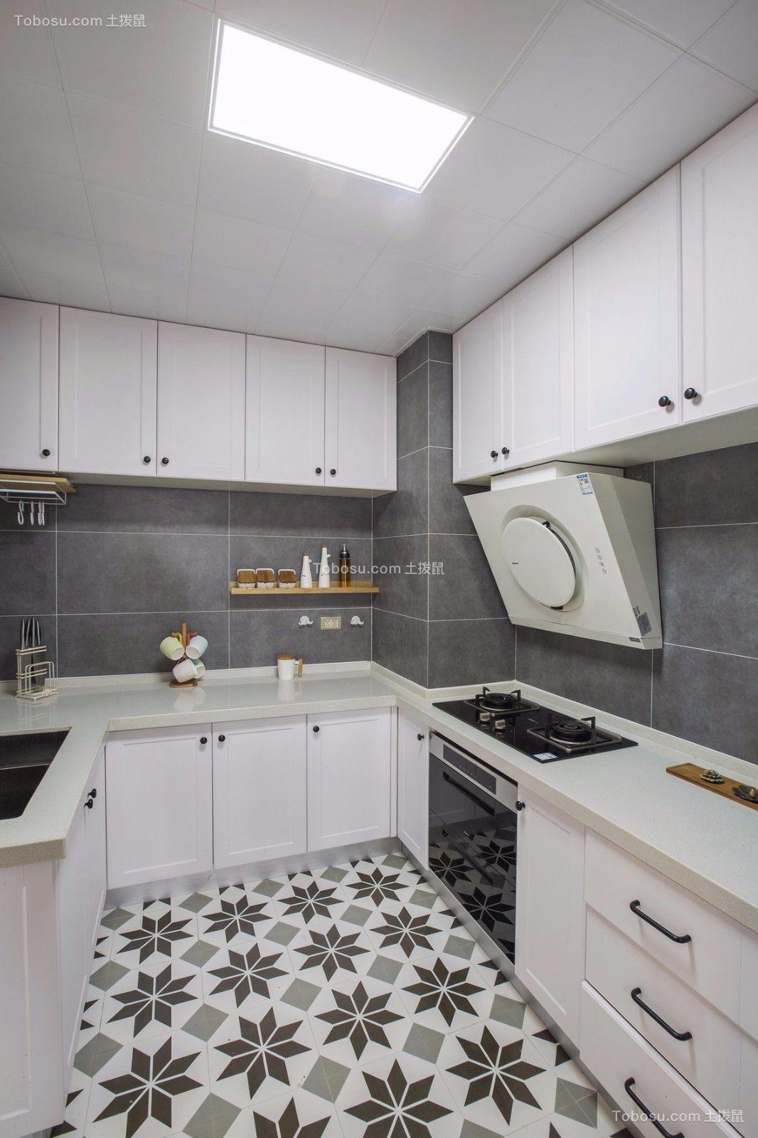 2020北欧厨房装修图 2020北欧地砖装修设计