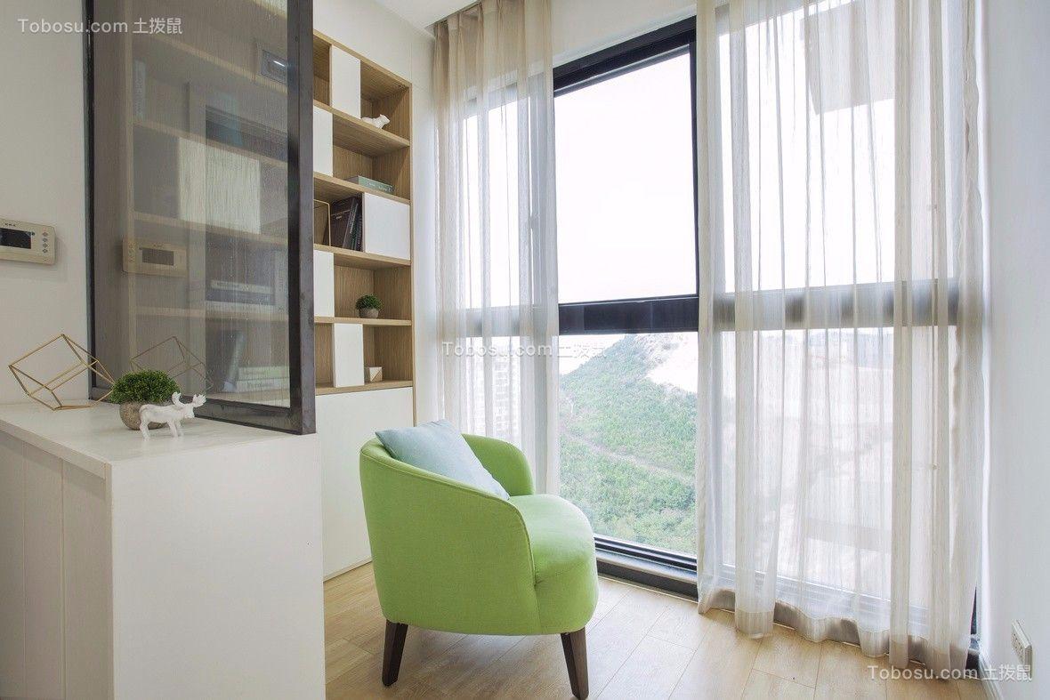 2020北欧阳台装修效果图大全 2020北欧窗帘装修设计