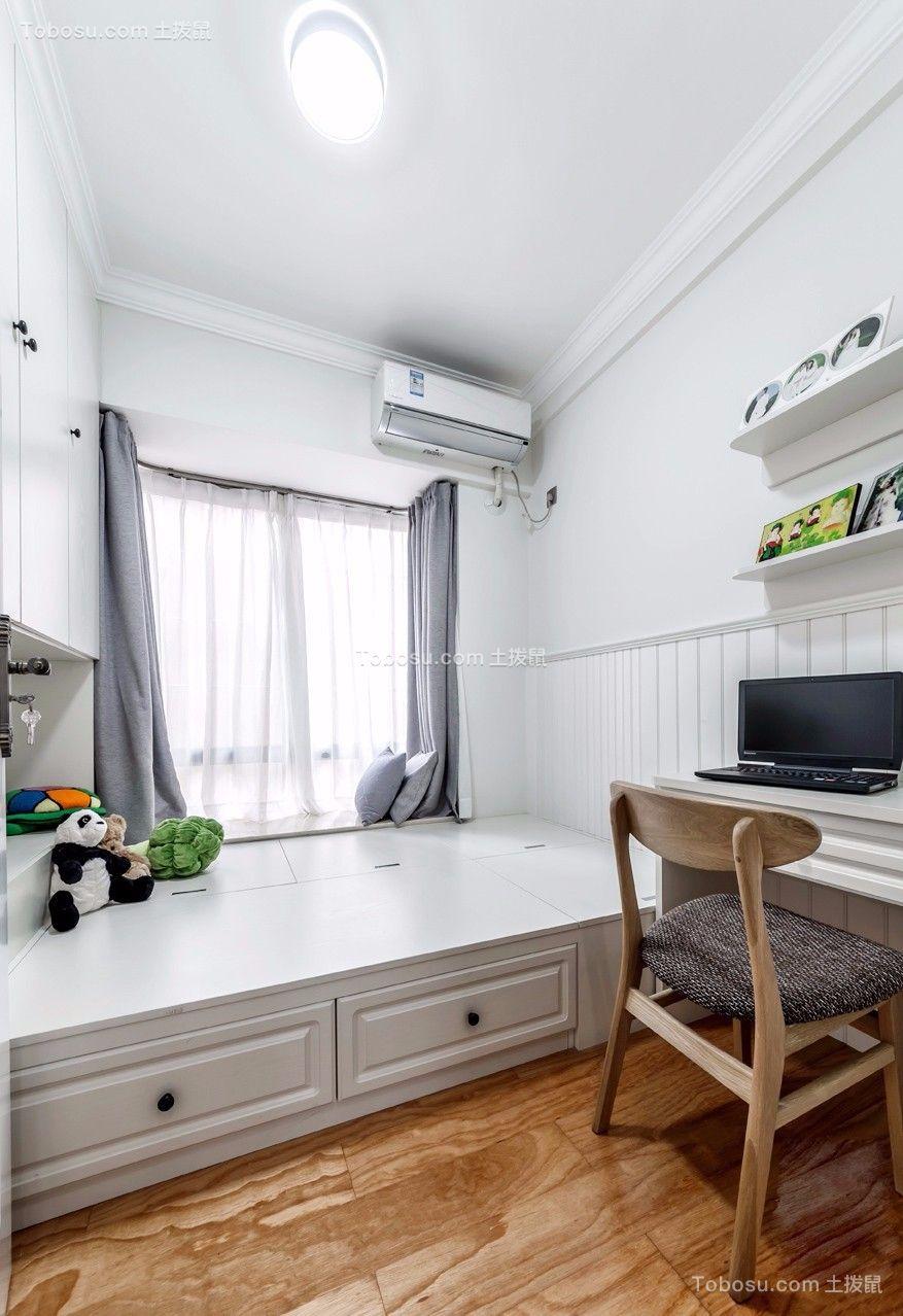 简欧120平三居室装修效果图
