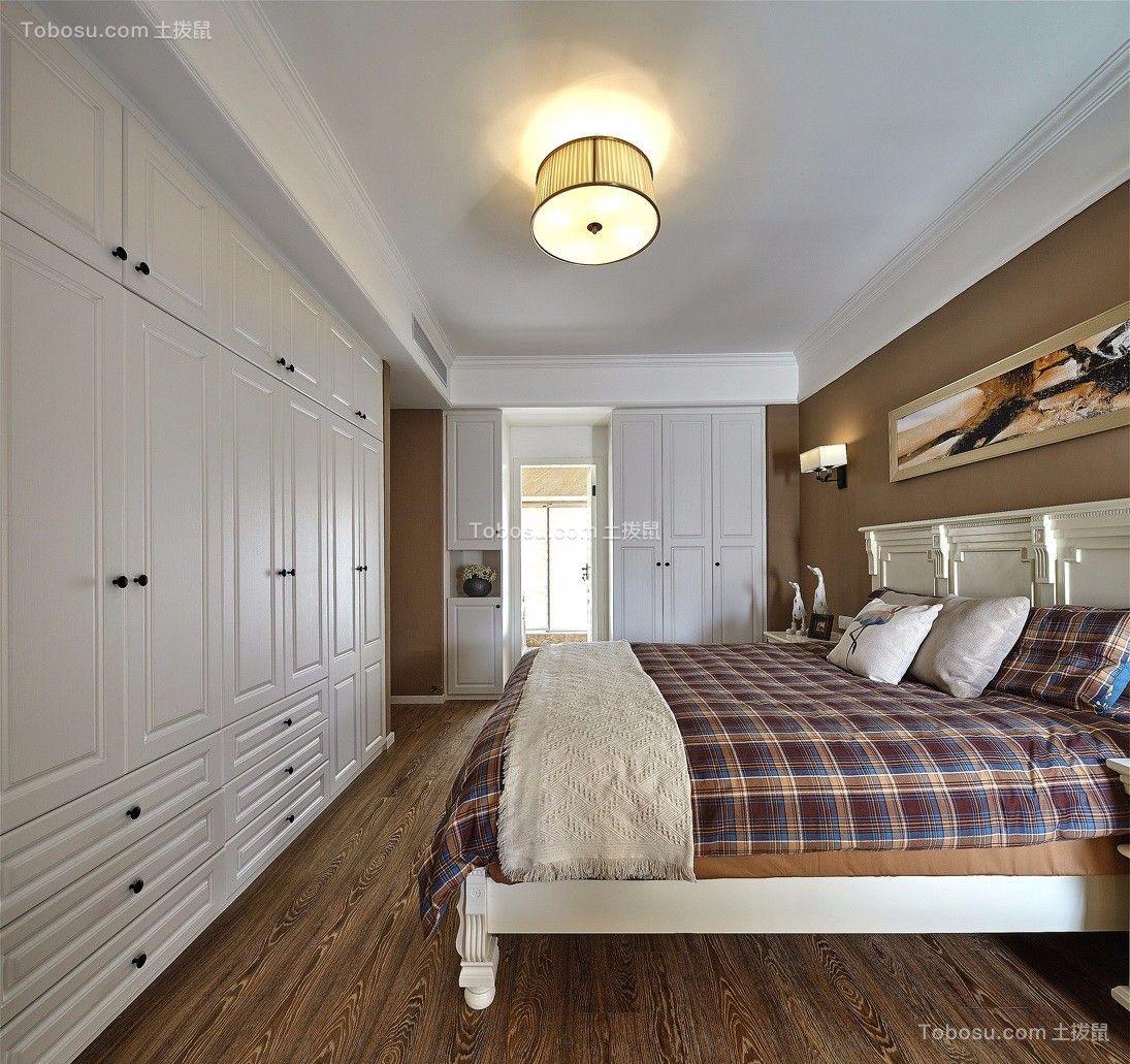 2020美式卧室装修设计图片 2020美式吊顶效果图