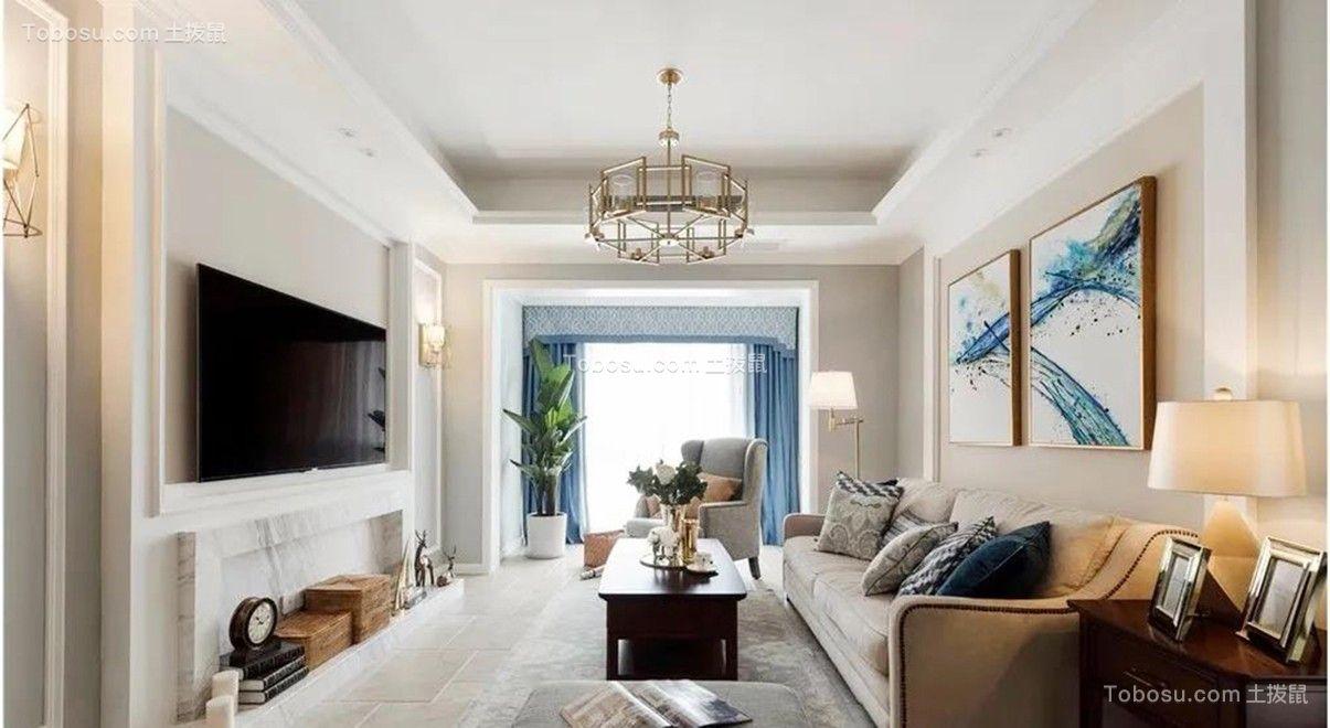 109平米浪漫美式2室2厅,享受美好生活里的仪式感