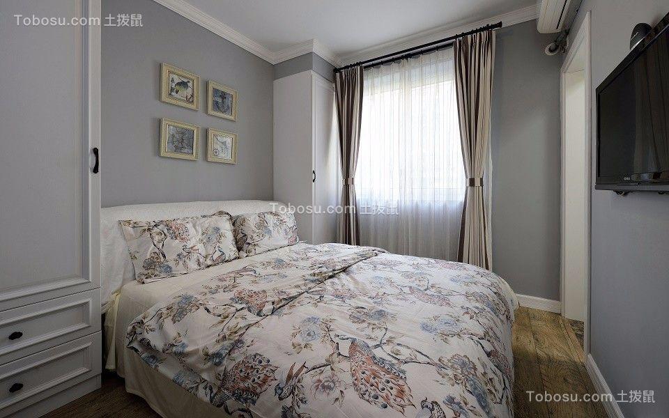 2020美式卧室装修设计图片 2020美式照片墙装修图
