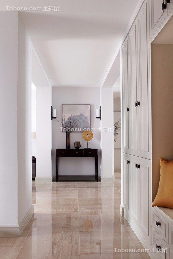 混搭120平三居室装修效果图