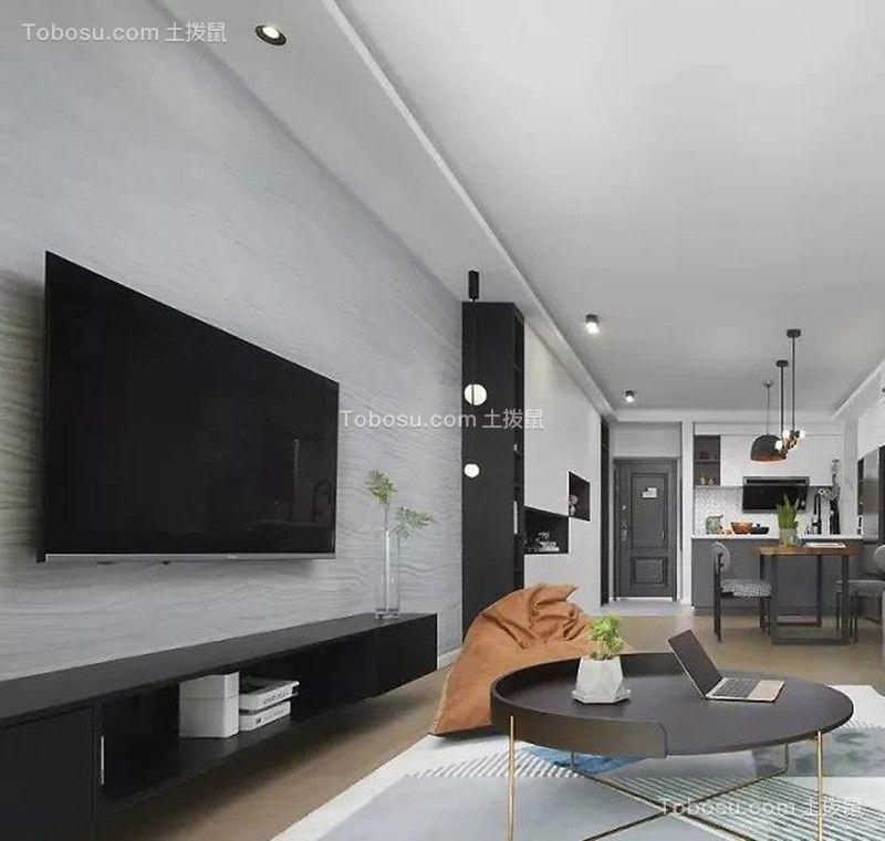 盛达国际新城89㎡现代北欧2室2厅,简单随性的惬意生活!