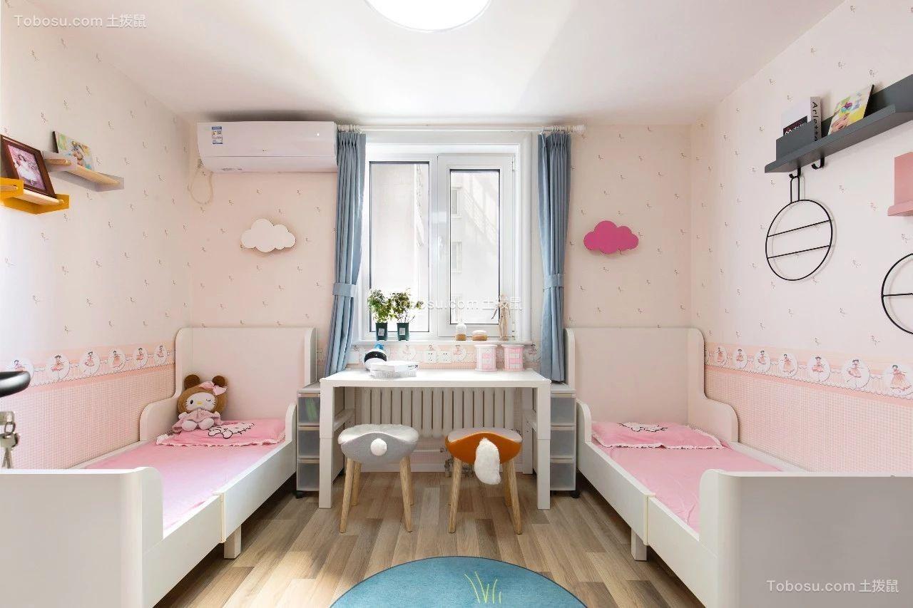 80㎡舒适北欧风格装修,最喜欢他家的榻榻米阳台和双子儿童房