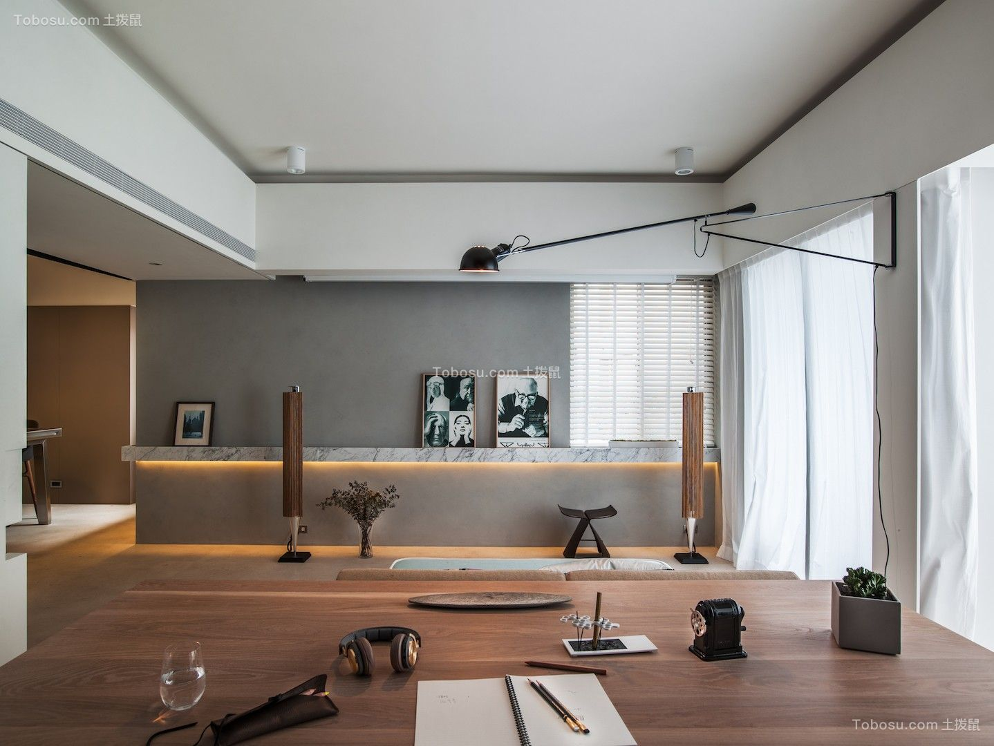 150平現代簡約總裁公寓