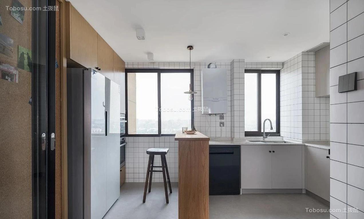 2021简约厨房装修图 2021简约吧台装饰设计
