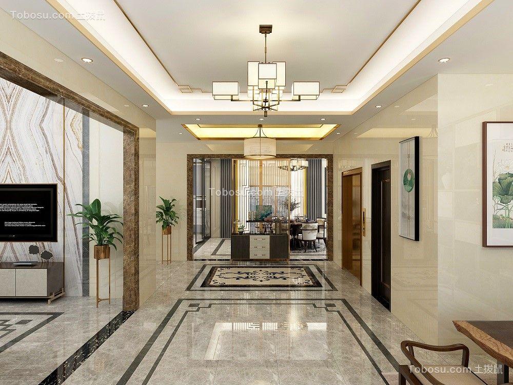 2021美式客厅装修设计 2021美式门厅装修图片