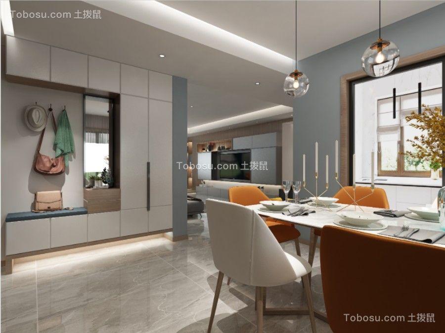 2021现代餐厅效果图 2021现代地板砖装修设计