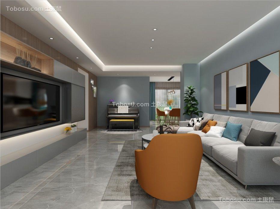 2021现代客厅装修设计 2021现代地板砖装修设计