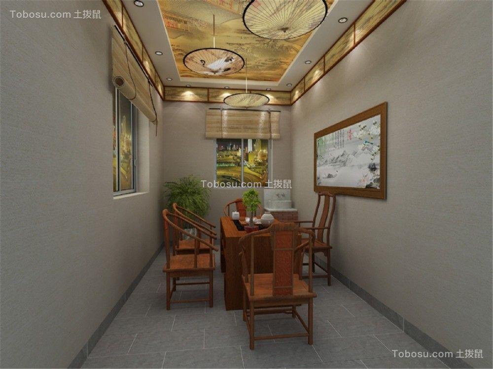 2021中式古典餐厅效果图 2021中式古典餐桌装修效果图片