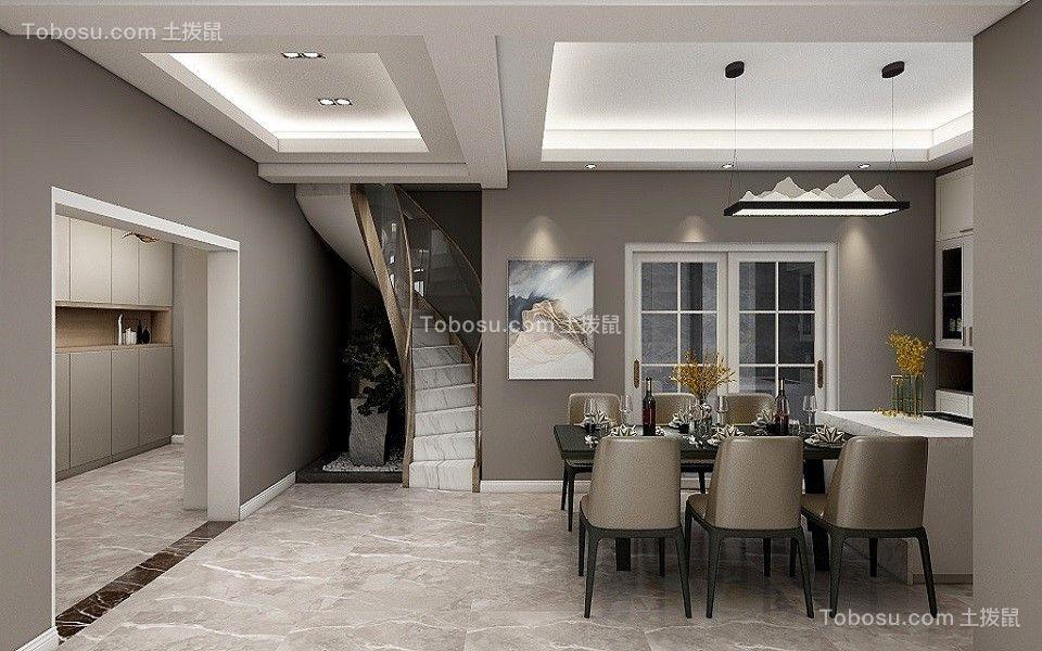 2021现代餐厅效果图 2021现代地砖装修效果图大全