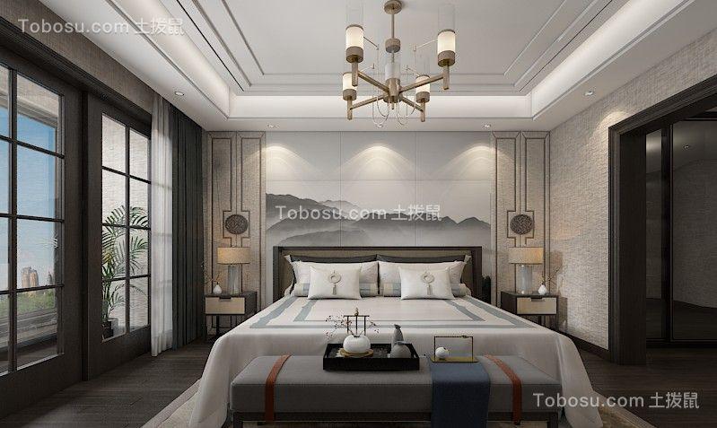 2021简中卧室装修设计图片 2021简中背景墙装修设计