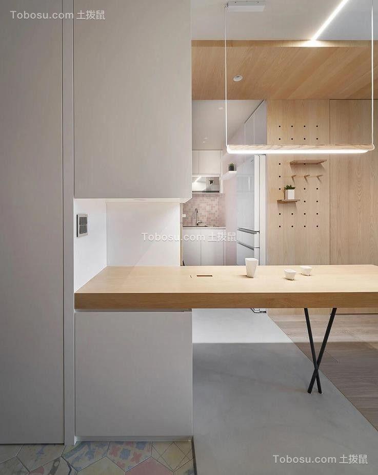 2021现代简约餐厅效果图 2021现代简约吧台装饰设计